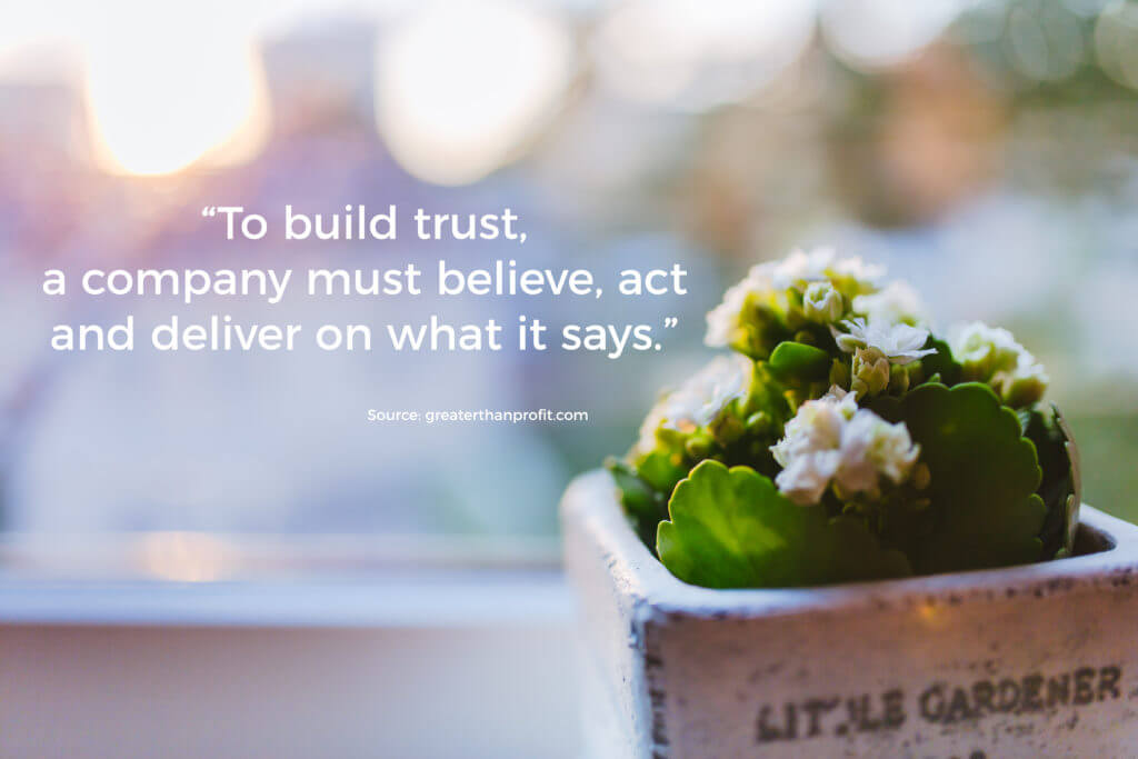 Authenticity Builds Trust Quote